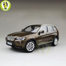 1/18 BMW X3 F25 xDrive 35i RMZ MODEL Diecast Model Car SUV Brown