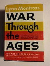 020 Lynn Montross War Through The Ages HB Book DJ Harper Row 1960