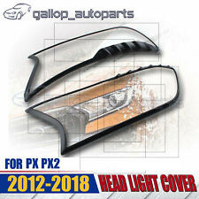for FORD RANGER PX2 2012-2018 HEAD LIGHT COVER TRIM MATT BLACK