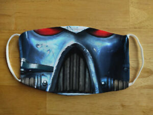 Face Mask Funny Space Marine Sci-fi Washable Reusable Protection Face Cover UK
