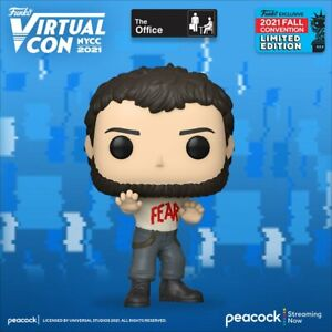 The Office – Fear Mose Schrute Funko Pop! Vinyl **NYCC2021 PRE-ORDER**