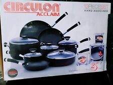 Brand New Circulon Acclaim 13 Piece Cookwear Set Unopened Box