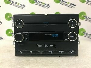 11 - 16 Ford Super Duty F250 F350 OEM Single CD AM FM Sat Radio BLUE DATA