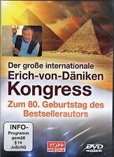 DER GROßE INTERNATIONALE ERICH VON DÄNIKEN KONGRESS - 3 DVD SET - NEU OVP