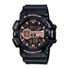 Casio G-Shock Mens Wrist Watch GA400GB-1A4  GA400GB-1A4 Rotary Switch Black Rose
