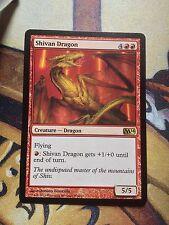 Shivan Dragon   VO   -  MTG Magic (EX)