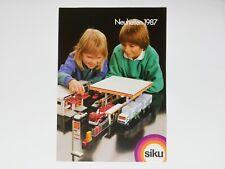 Siku 1000er Katalog 1987 (4 seitig) - 0110