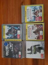 PS3 Games X 5, Assassins Creed 1 and 2 and Brotherhood Call of Duty Ghosts MW3