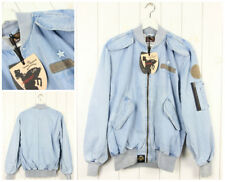 NEW VIVIENNE WESTWOOD ANGLOMANIA X LEE FLIGHT DENIM  BOMBER JACKET #12 S SMALL