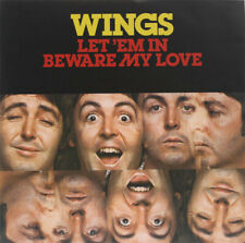 "Wings ‎– Let 'Em In. 7"" Picture Sleeve, 2014 RSD. Mint."