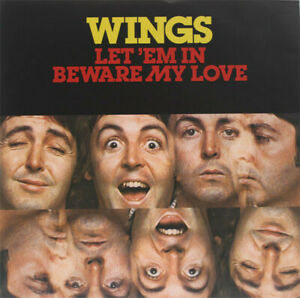 """Wings – Let 'Em In. 7"""" Picture Sleeve, 2014 RSD. Mint. (NM Sleeve)"""