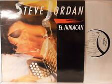Steve Jordan - El Huracan - LP 1990 D - Zensor ZS 100