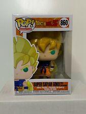 Funko Pop! Dragon Ball Z - First Appearance SS Goku #860 w/ Protector MINT