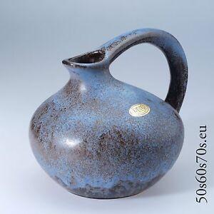 Handled Vase Jopeko 404-17 H=17 cm 50er/50s - WGP - Fat Lava #658