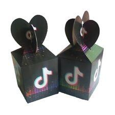 12pcs Tik Tok Candy Box Music Happy Birthday Party Favor Kids Filler Supplies