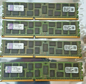 Kingston 32GB (4x8GB) Registered ECC Server RAM Memory KTD-PE313/8G