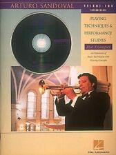 Arturo Sandoval Playing Techniques & Performance Studies for Trumpet Vol. 2 w/Cd