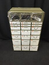 CAMBRIDGE 22 Drawer Military Medical Instrument & Supply Chest Cabinet Insert