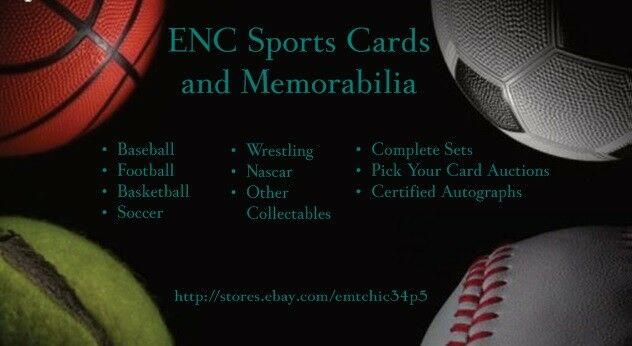 ENC Sports Cards and Memorabilia