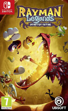 Rayman Legends - Definitive Edition (Switch)  BRAND NEW AND SEALED - IMPORT