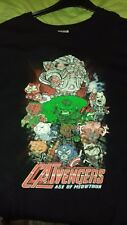 Avengers catvengers QWERTY T-shirt XXXL 3XL Fruit of The Loom petto 27 in (ca. 68.58 cm)