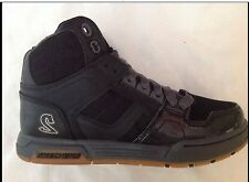 ☆☆NEW☆☆SKECHERS SKX Tennis shoes boys High Top Lace Up Black/Gray Sz. 2 Youth