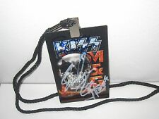 KISS SIGNED FREEDOM TO ROCK VIP LAMINATE END OF ROAD TOUR GENE SIMMONS PROOF