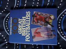 TREVOR BROOKINGS 100 GREAT BRITISH FOOTBALLERS BOOK