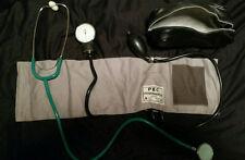 PBC Sphygmomanometer & Stethoscope Blood Pressure Kit with Zip Bag