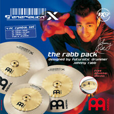 Meinl GX-12/16/18 Generation X The Rabb Pack Cymbal Set - New product