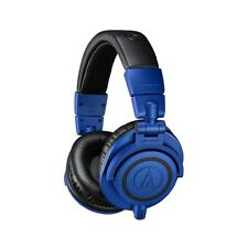 Audio-Technica ATH-M50x Professional Monitor Headphones Blue Black Pro Audio