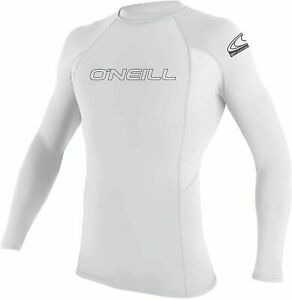 NWT O'Neill Men's Basic Skins UPF 50+ Long Sleeve Rash Guard Size X-Large