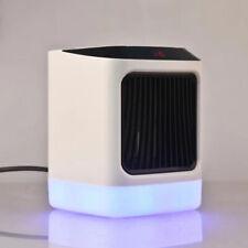 Digitaler Mini-Heizung Heizlüfter 800W Steckdose Elektro Heizgerät Ventilator