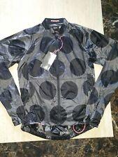 BNWT mens cycling RAPHA PACK JACKET DOT PRINT size XS RRP £165