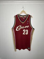 Vintage Cleveland Cavaliers CAVS de Lebron James 23 Jersey Xl +2 Nike Rojo