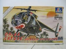 Italeri 1/72 Oh-6A Cayuse Gunship Helicopter #028