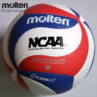 Molten 5v5m5000 Leather Soft Touch Volleyball Ball Official Indoor Outdoor Game