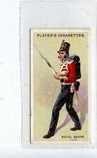 (Jd3985) PLAYERS,REGIMENTAL UNIFORMS 2ND,ROYAL SCOTS,1913,#59