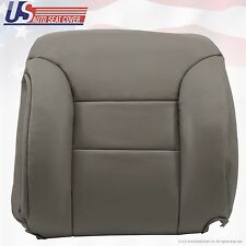 1995 -1999 Chevrolet C/K 1500 Driver Upper top Lean Back Leather Seat Cover Gray