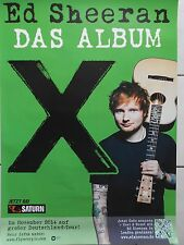 Ed Sheeran Album 2014 Orig. Concert Poster -- CONCERT AFFICHE a1