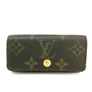 Louis Vuitton Monogram Multicles 4 Ring Key Case /E1431