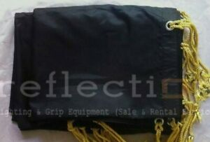12' X 12' Solid Black Cloth - for Overhead / Butterfly Frame