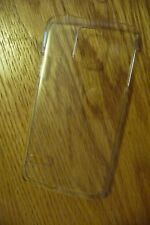 S4 BRAND NEW SAMSUNG GALAXY 4 HARD PHONE CASE IN THE COLOUR: CLEAR - SEE THROUGH