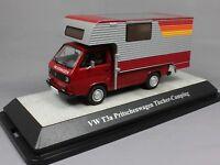 Premium ClassiXXs Volkswagen VW T3a Demountable Motorcaravan Camper in Red 11527