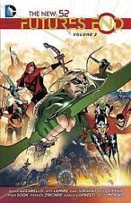 New 52 Future's End Volume 2 TP, Lemire, Jezz, Azzarello, Brian, Very Good, Pape