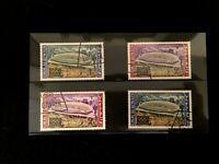 Umm al-Quwain - Stamps Set of 4 - Vintage Historical Stamps- Collectors Stamps