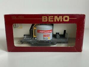 """Bemo Rhb Hom Cement wagon """"Morenkopf"""" 8025 Bemo No 2259 135 HOe HOm Scale"""
