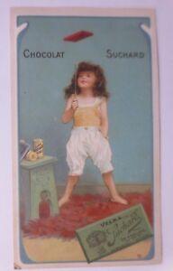 Kaufmannsbilder, Chocolat Ph. Suchard, Kinder Spielen  1910 ♥ (61391)