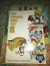 1967 Pittsburgh University Panthers College Football Media Guide!