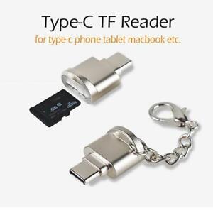 USB C 3.1 Type C to USB3.0 OTG HUB Adapter USB/ TF/ Micro SD Memory Card Reader